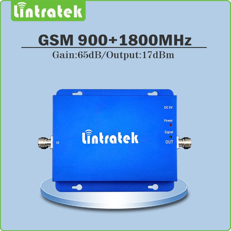 gsm signal amplifier booster 900 1800mhz dual band signal booster GSM DCS cellular repeater with gain 65dB output power 17dBm