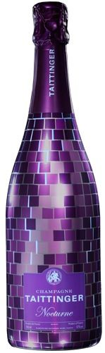 Taittinger Purple Disco Champagne Bottle