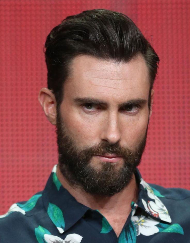 Adam Levine's Changing Looks | InStyle.com |Haircut Beard Adam Levine