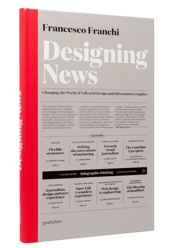 Designing News: Changing the World of Editorial Design and Information Graphics: Francesco Franchi: 9783899554687: Amazon.com: Books