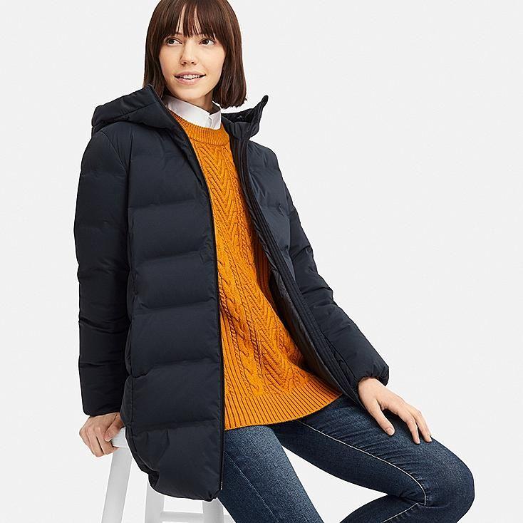 WOMEN SEAMLESS DOWN HOODED SHORT COAT | Outerwear women