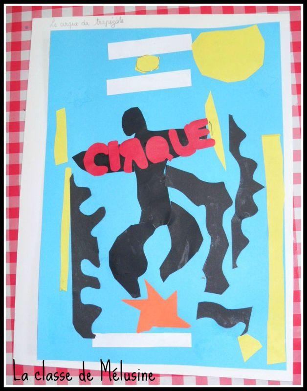 Matisse fait son cirque! (la classe de Mélusine)