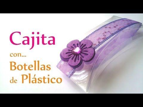 Manualidades: CAJITA con BOTELLA de PLÁSTICO (muy FÁCIL) - Reciclar - Innova Manualidades - YouTube