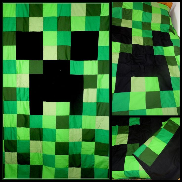 32 best images about minecraft on pinterest perler beads for Bed decoration minecraft