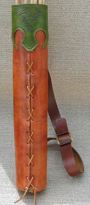 Medieval Leather Quiver How to Project. For more Viking facts please follow and check out www.vikingfacts.com don't forget to support and follow the original Pinner/creator. Thx