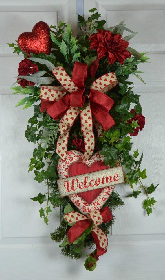Best 25+ Valentine wreath ideas on Pinterest
