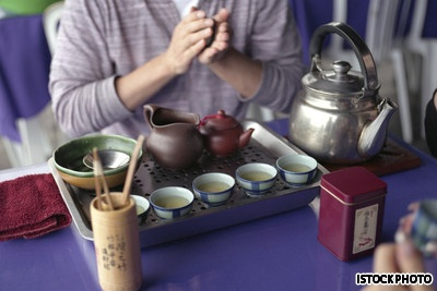 Some of the tea in China
