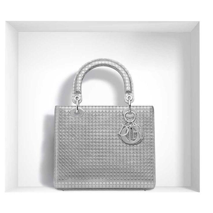 Dior - Lady Dior Çanta Gümüş - 10 #Dior #Dior-LadyDior #Çanta