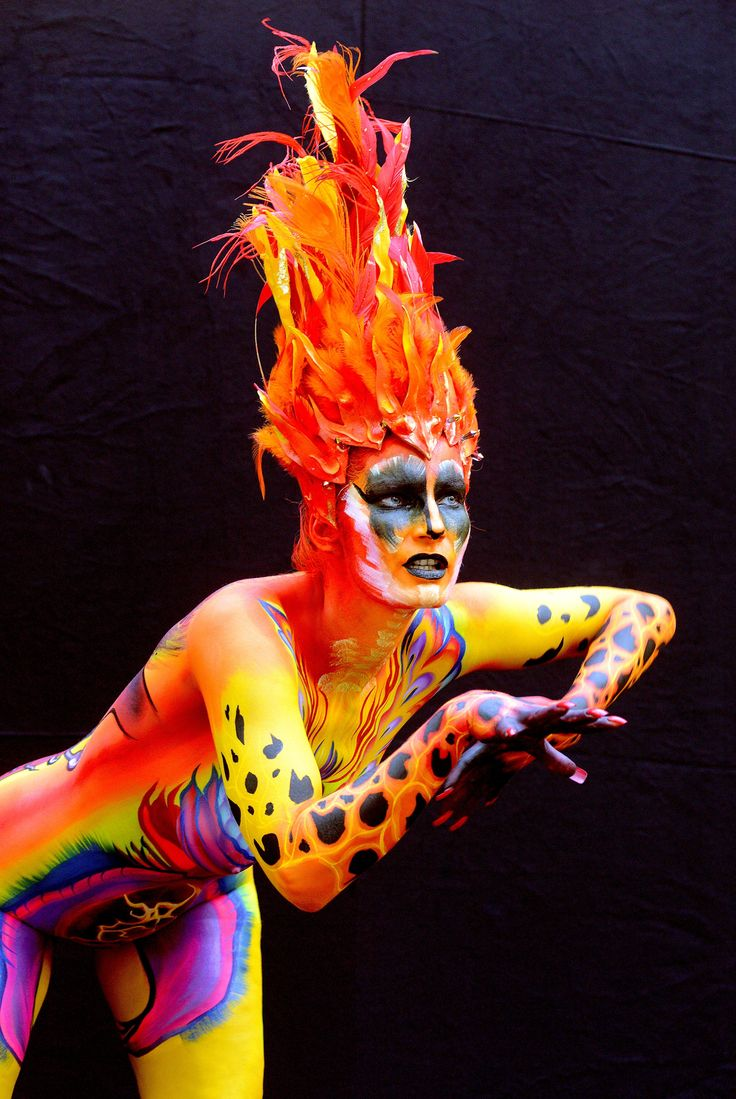 Body painting festival in Austria – in pictures