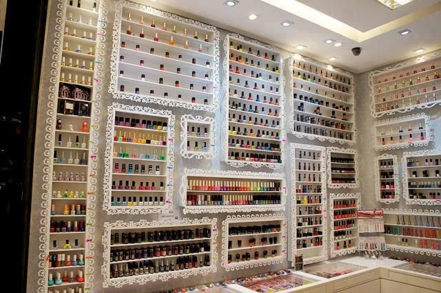 Amazing Polish room  WOW    Every ladies dream   I may not have an entire room  but I will need a whole wall for my collection  132 so far