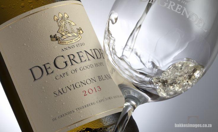 Wine Photography for Marketing & Advertising: De Grendel Sauvignon Blanc 2013 www.bakkesimages.co.za