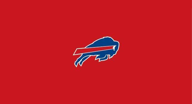 Buffalo Bills 8' Pool Table Cloth