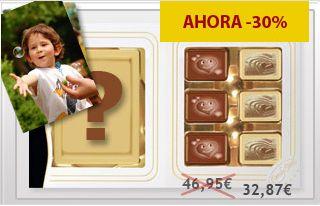 Imprimir una foto en el mejor chocolate belga. ¡Una idea irresistible!