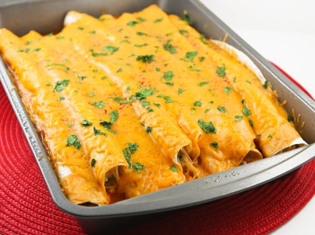 Pip & Ebby - Pip & Ebby - Spicy chicken enchiladas