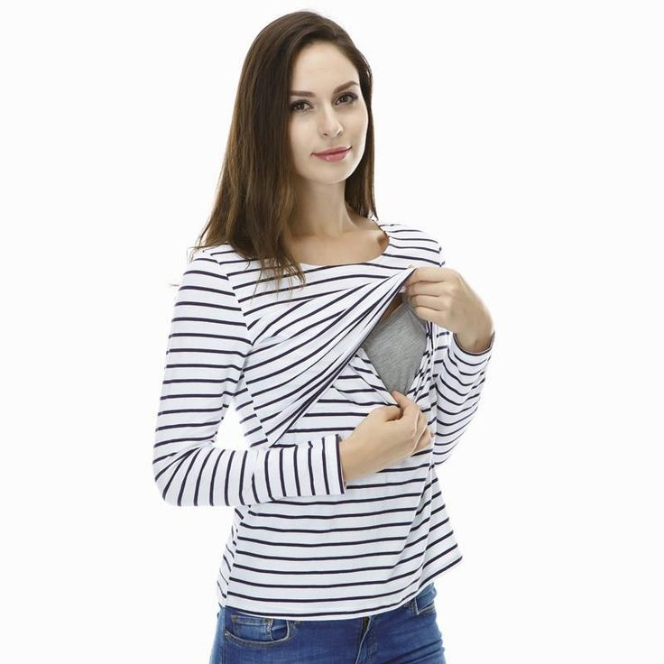 Maternity Clothes Maternity Tops/ t shirt Breastfeeding shirt Nursing Tops pregnancy clothes for pregnant women $21.59 => Save up to 60% and Free Shipping => Order Now! #fashion #woman #shop #diy www.mybreastfeedi...