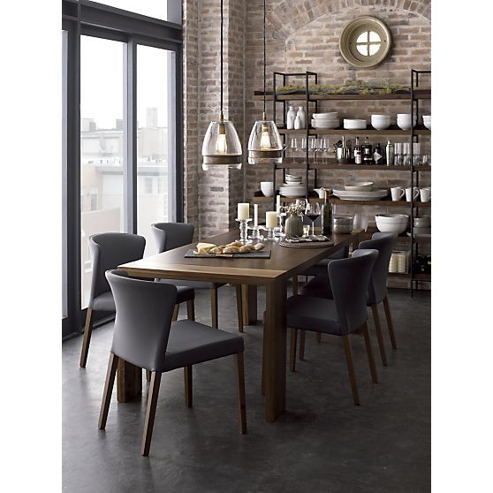 Crate and barrel crates and barrels on pinterest for Crate and barrel dining room ideas