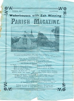 A 1932 Parish Magazine from Esh Winning Durham tells a story of the Girls Friendly Society and the young women who had to leave their home village @wecamefrom