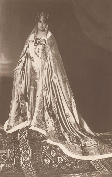 Queen Marie of Romania Regina Maria Coronation Postcard
