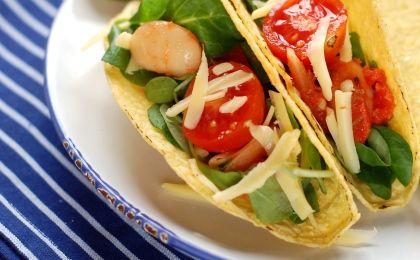 stahl / fűszeres eszter - taco mexikói salátával