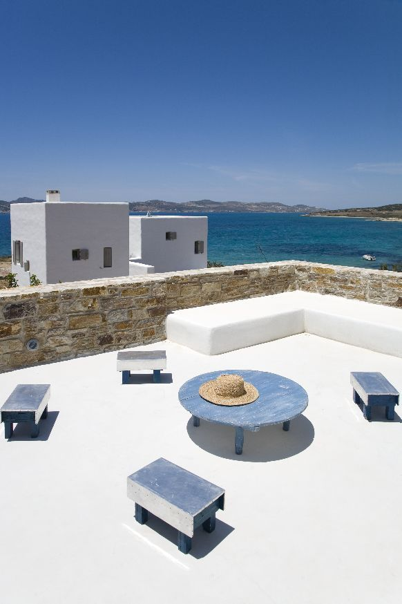 Two Residences by Zoumboulakis Architects in Paros, Greece. Photo by Vasilis Skopelitis.