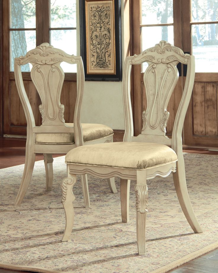 ashley ortanique d707 01 millennium dining uph side chair