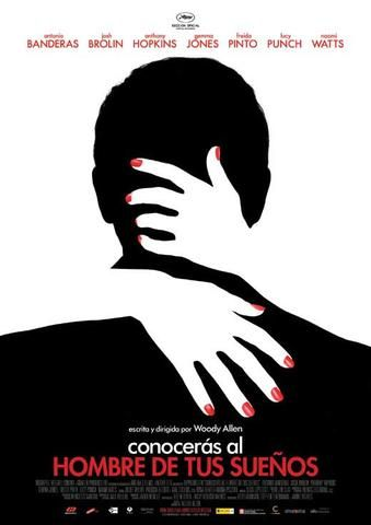 You Will Meet a Tall Dark Stranger (Spanish) 27x40 Movie Poster (2010)