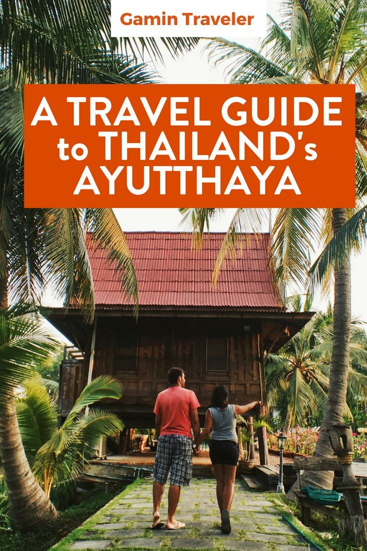 Travel around Thailand by train. The Ayutthaya Travel Guide – Thailand's Old Capital via @gamintraveler