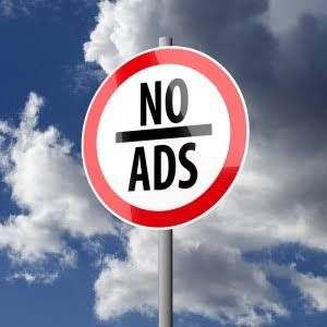 Saying NO to annoying website ads New Tulipstitch blog post October 28 2015