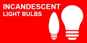 Incandescent Bulb Reference Chart
