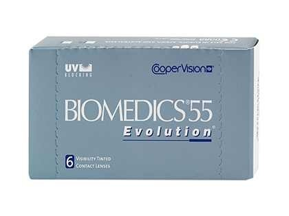Biomedics 55 Are monthly contact lenses manufactured by CooperVision.  They are highly recommended to people who want branded lenses at low prices