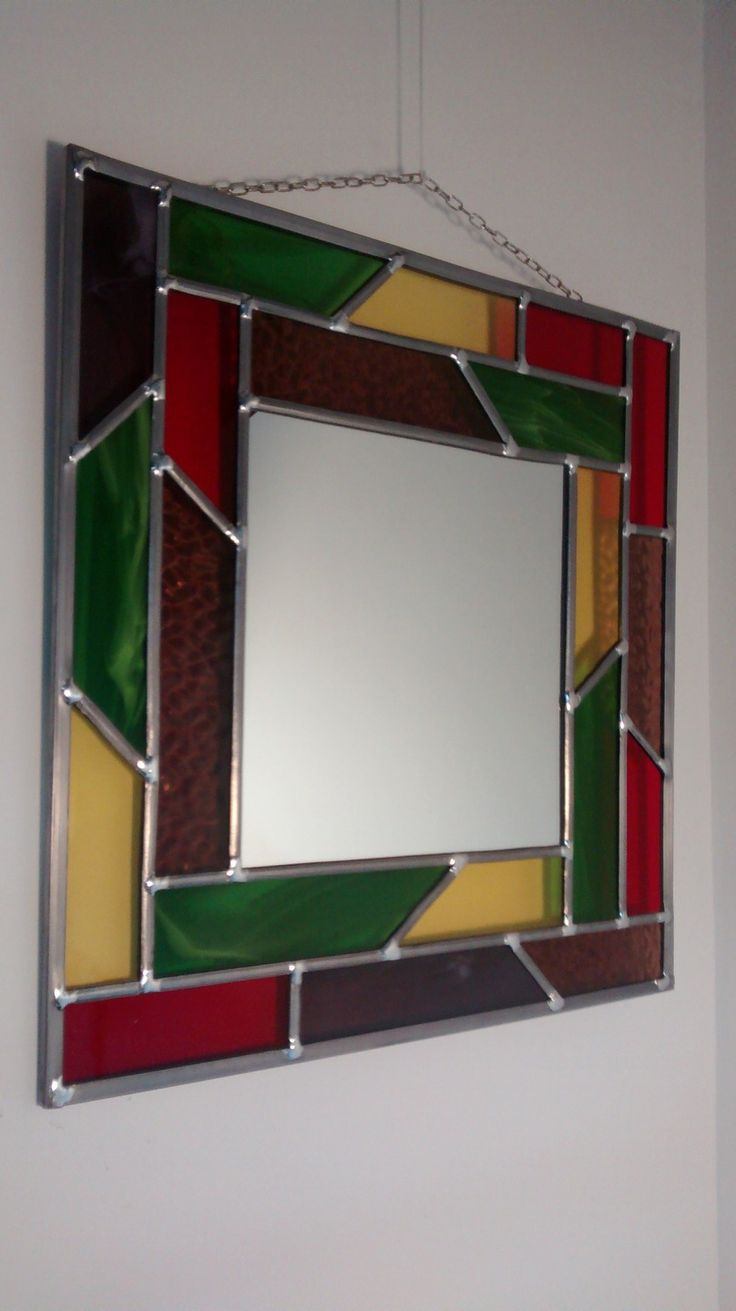 Les 7 meilleures images du tableau miroir en vitrail sur for Miroir a poser par terre