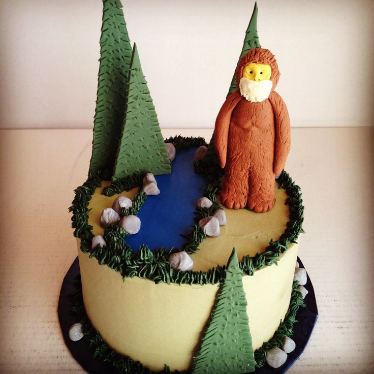 Bigfoot Cake Images : 93 best images about Custom cakes. on Pinterest Sugar ...