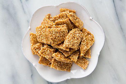 Sesame Brittle Recipe | Simply Recipes