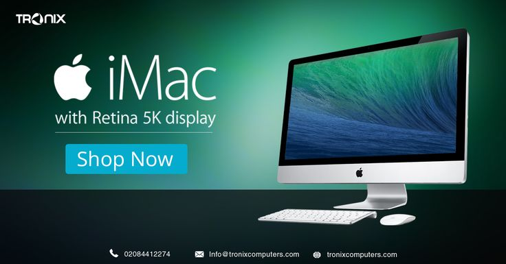 "Tronix Computers offering #Apple iMac 27"" Core i5 3.2GHz, 8GB RAM with 1TB HDD at lowest price ever in all over the UK and EU with Free Shipping in #ClearanceSale so place your order by logging on to before it goes outta stock"