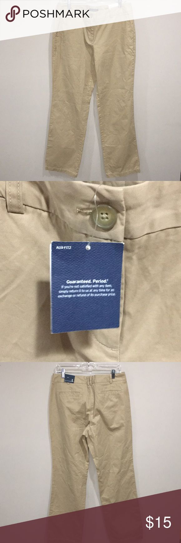 NWT MENS KHAKI PANTS BRAND NEW WITH TAGS Lands' End Pants Chinos & Khakis