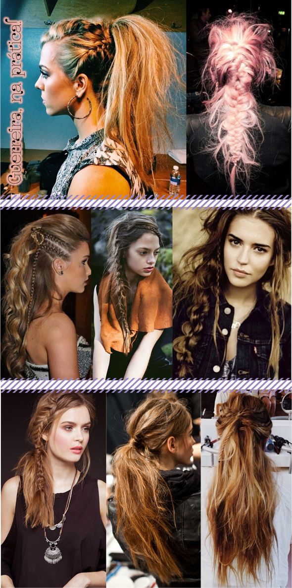 WARRIOR HAIR IDEIAS INSPIRATION