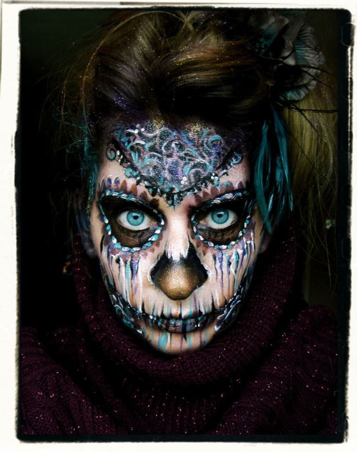 Lisa oakley sugar skull love face painting for Cheap face painting houston