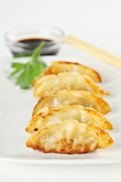 chinese pot stickers - LOTS of great chinese recipes - healthy