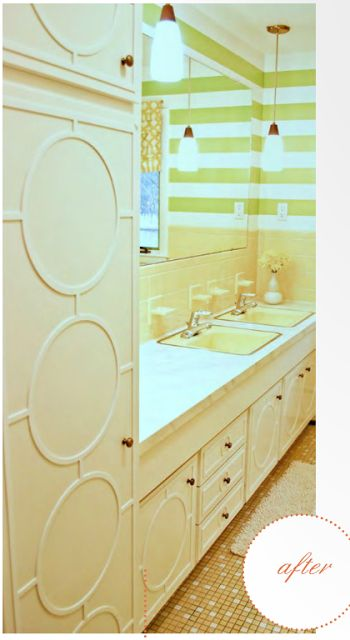 GORGEOUS SHINY THINGS: Bathroom on the Cheap/ Lipstick on a Pig