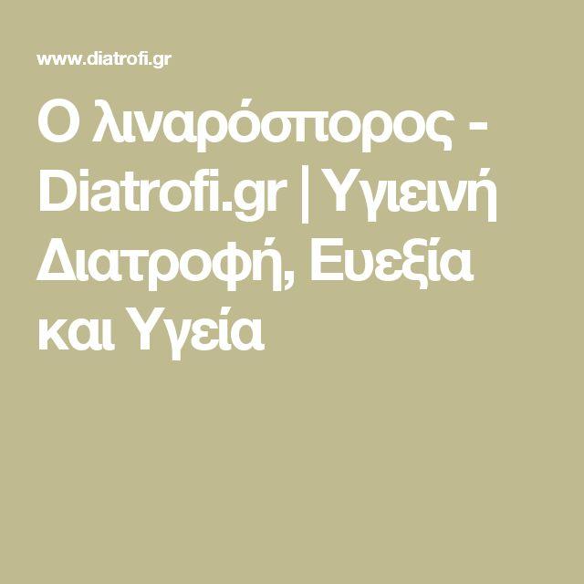 Ο λιναρόσπορος - Diatrofi.gr   Υγιεινή Διατροφή, Ευεξία και Υγεία