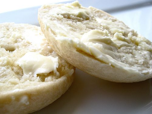 NY Style Bagel Recipe; Bagel With Butter by TheSophisticatedGourmet, via Flickr