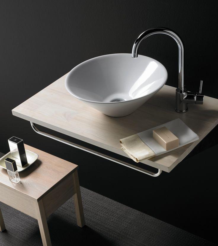 17 mejores im genes sobre lavabos de porcelana circular en for Embellecedor rebosadero lavabo