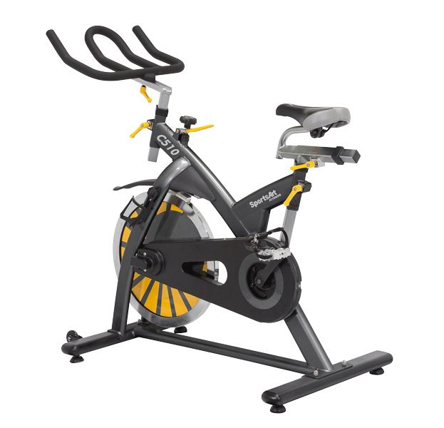 Sportsart C510 Indoor Cycling Bike Sportsart Takes Spin Class To A Whole New Level Of Energy And Competition With A Indoor Cycling Bike Bike Biking Workout