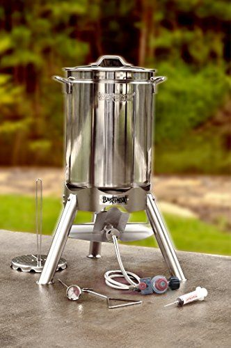 #Bayou #Classic 200-440 44-Qt #Turkey #Fryer #Kit #Turkey frying season is approaching and #Bayou #Classic introduces the 'Grand gobbler' #Turkey #Fryer #kit for frying extra large turkeys, up to 25-lb. 44-Qt stainless stockpot with lid and welded handles Patented poultry rack and lift hook https://food.boutiquecloset.com/product/bayou-classic-200-440-44-qt-turkey-fryer-kit/
