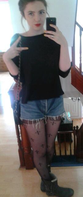 rocking the shorts