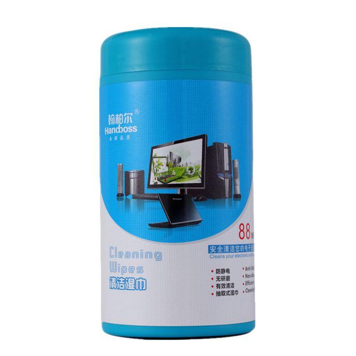 88 x Toallitas húmedas de limpieza multifunción para el teléfono móvil del ordenador portátil LED LCD Ordenador de TV iPad Monitor Limpiar