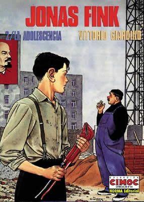 Jonas Fink 2. La adolescencia. En la Praga comunista, la vida de un joven judío está llena de dificultades. Jonas Fink tiene que luchar por conseguir un trabajo digno en un régimen represivo, pero también descubre unos ojos azules que transformarán su adolescencia.