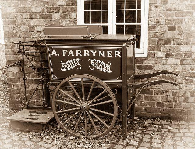 hand cart blists hill victorian village