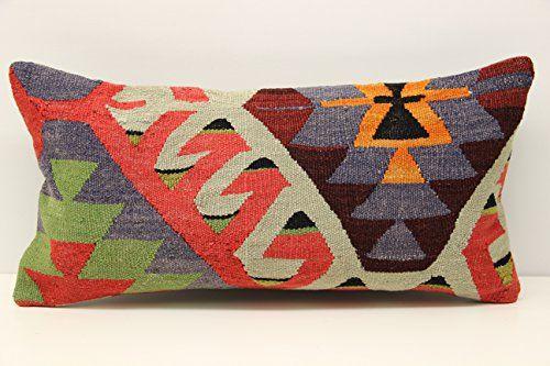 Oblong kilim pillow cover 12x24 inch (30x60 cm) Anatolian... https://www.amazon.com/dp/B078C7QK57/ref=cm_sw_r_pi_dp_x_O6XhAbVDGQDJ3
