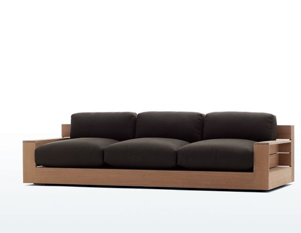 i didn't know james perse had a furniture line. this couch is gorgeous.